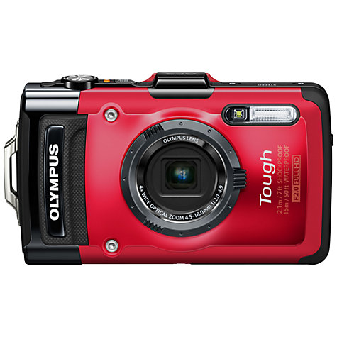 Buy Olympus TG-2 Digital Camera, HD 1080p, 12MP, 4x Optical Zoom, GPS, 3.2 OLED Screen Online at johnlewis.com
