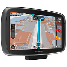 Buy TomTom GO 600 GPS Navigation System, Free Lifetime UK and Republic of Ireland Maps with High Speed Multi-charger Online at johnlewis.com