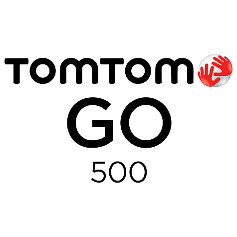 Buy TomTom GO 500 GPS Navigation System, Free Lifetime UK and Republic of Ireland Maps Online at johnlewis.com