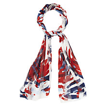 Buy CC Petite Brush Print Scarf, Multi Online at johnlewis.com