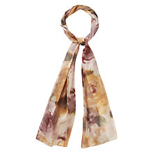 Buy CC Abstract Rose Scarf, Blush Online at johnlewis.com