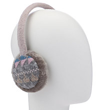 Buy John Lewis Fairisle Ear Muffs, Multi Online at johnlewis.com