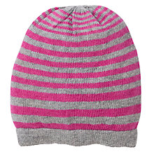 Buy John Lewis Stripe Beanie Hat Online at johnlewis.com