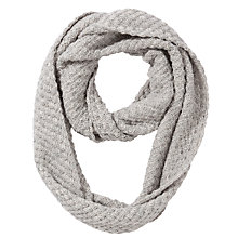 Buy John Lewis Basket Weave Snood, Grey Online at johnlewis.com
