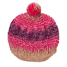 Buy John Lewis Space Dye Bakerboy Hat, Pink Online at johnlewis.com