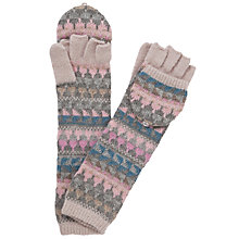 Buy John Lewis Long Fair Isle Trapper Gloves, Multi Online at johnlewis.com