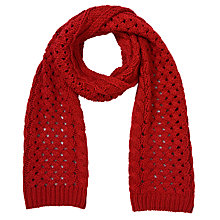 Buy John Lewis Cable Scarf Online at johnlewis.com