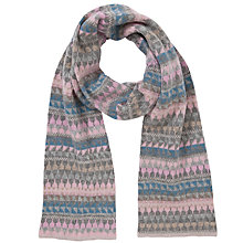 Buy John Lewis Fairisle Scarf, Multi Online at johnlewis.com