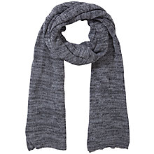 Buy John Lewis Slub Jersey Scarf, Grey Online at johnlewis.com