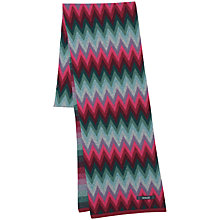 Buy Seasalt Direction Scarf, Chevron Rhodo Online at johnlewis.com