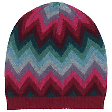 Buy Seasalt Direction Hat, Chevron Rhodo Online at johnlewis.com