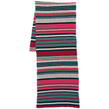 Buy Seasalt Juicy Stripe Scarf, Succulent Red Chard Online at johnlewis.com