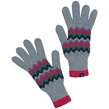 Buy Seasalt Direction Gloves, Chevron Rhodo Online at johnlewis.com