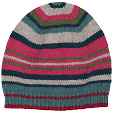 Buy Seasalt Juicy Stripe Beanie, Multi Online at johnlewis.com