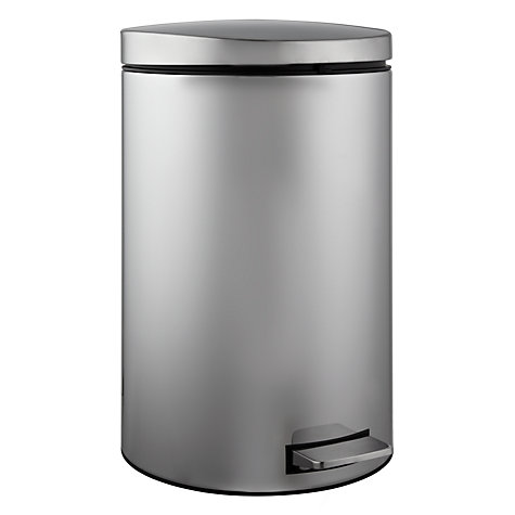 Buy Brabantia MotionControl Pedal Bin with Food Trap, Brilliant Steel, 20L Online at johnlewis.com