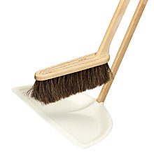 Buy Iris Hantverk Tall Dustpan and Brush Set Online at johnlewis.com