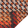 Buy Collection WEEKEND by John Lewis Dog Tooth Print Scarf, Orange/Black Online at johnlewis.com