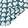 Buy Collection WEEKEND by John Lewis Cotton Viscose Mix Heart  Print Scarf, Teal Online at johnlewis.com