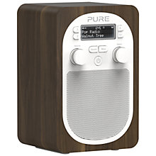 Buy Pure Evoke D2 DAB/FM Digital Radio, Walnut + D1 ChargePAK Online at johnlewis.com