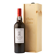 Buy Personalised Port Gift Set, 75cl Online at johnlewis.com