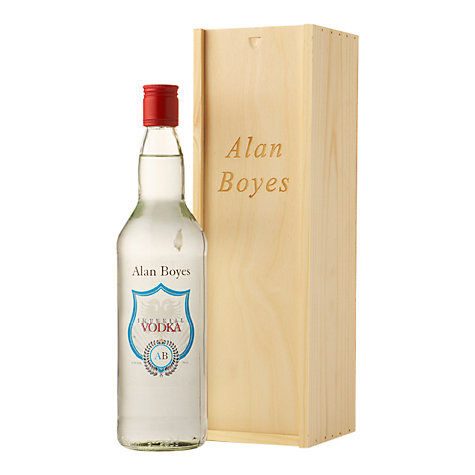 Buy Personalised Vodka Gift Set, 75cl Online at johnlewis.com