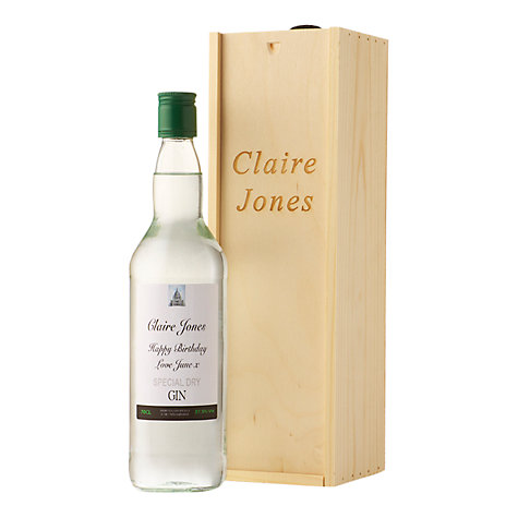 Buy Personalised Gin Gift Set, 75cl Online at johnlewis.com