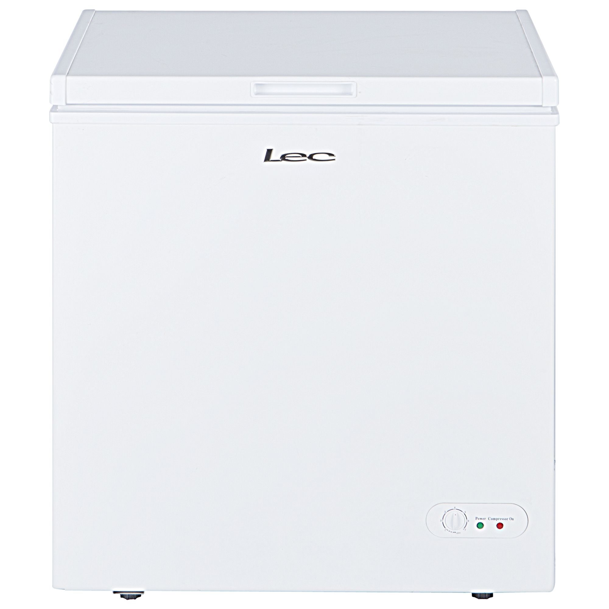 LEC Lec CF150LW Chest Freezer, A+ Energy Rating, 77cm Wide, White