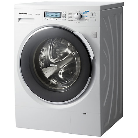 Buy Panasonic NA-140VZ4WG Freestanding Washing Machine, 10kg Load, A+++ Energy Rating, 1400rpm Spin, White Online at johnlewis.com