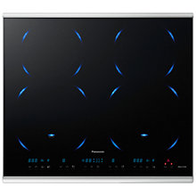 Buy Panasonic KY-B64BXBXD Induction Hob, Black Glass Online at johnlewis.com