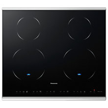Buy Panasonic KY-B64BGBXD Induction Hob, Black Glass Online at johnlewis.com
