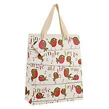 Buy Caroline Gardner Robin Gift Bag, Medium Online at johnlewis.com