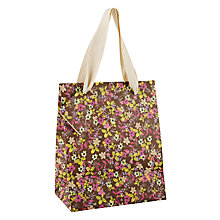 Buy Caroline Gardner Ditsy Gift Bag, Small Online at johnlewis.com