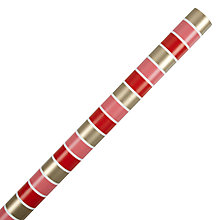 Buy John Lewis Winter Stripe Wrapping Paper, L3m Online at johnlewis.com