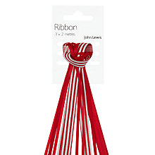 Buy John Lewis Tribbon, L2m, Red Online at johnlewis.com