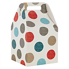 Buy John Lewis Spot Pop Up Gift Bag, Small Online at johnlewis.com