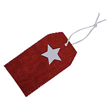 Buy John Lewis Felt Star Gift Tags, Pack of 5 Online at johnlewis.com