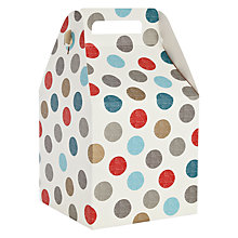 Buy John Lewis Spot Pop Up Gift Bag, Large Online at johnlewis.com