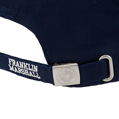 Buy Franklin & Marshall Franklin Logo Baseball Cap Online at johnlewis.com
