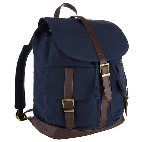 Buy John Lewis Canvas Rucksack Online at johnlewis.com