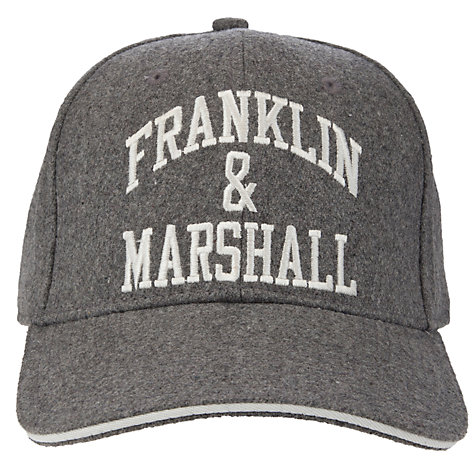 Buy Franklin & Marshall Wool Felt Baseball Cap Online at johnlewis.com