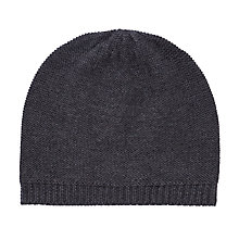 Buy John Lewis Knitted Beanie Hat, One Size Online at johnlewis.com