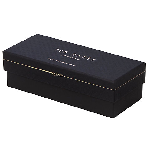 Buy Ted Baker Bowler and Moustache Socks, Pack of 3, One Size, Multi Online at johnlewis.com