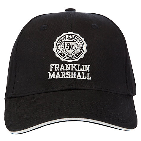Buy Franklin & Marshall Embroidered Logo Baseball Cap Online at johnlewis.com