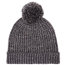 Buy John Lewis Twisted Bobble Hat, One Size Online at johnlewis.com