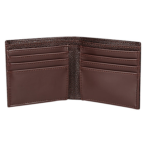 Buy Fred Perry Scotch Grain Bifold Wallet, Brown Online at johnlewis.com