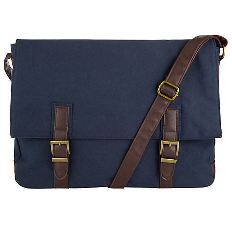 Buy John Lewis Canvas Messenger Bag Online at johnlewis.com