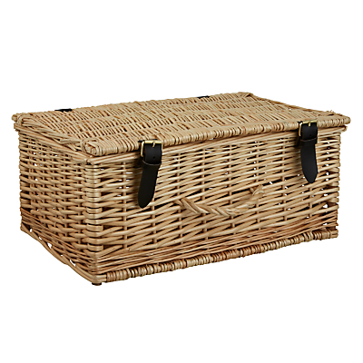 John Lewis Willow Picnic Hamper, Small