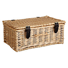 Buy John Lewis Willow Hamper Online at johnlewis.com
