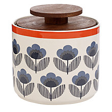 Buy Orla Kiely Poppy Meadow Kitchen Storage Jar, Multi, 1L Online at johnlewis.com