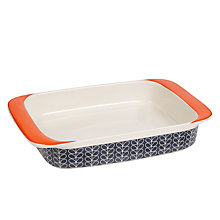 Buy Orla Kiely Linear Stem Lasagne Dish Online at johnlewis.com